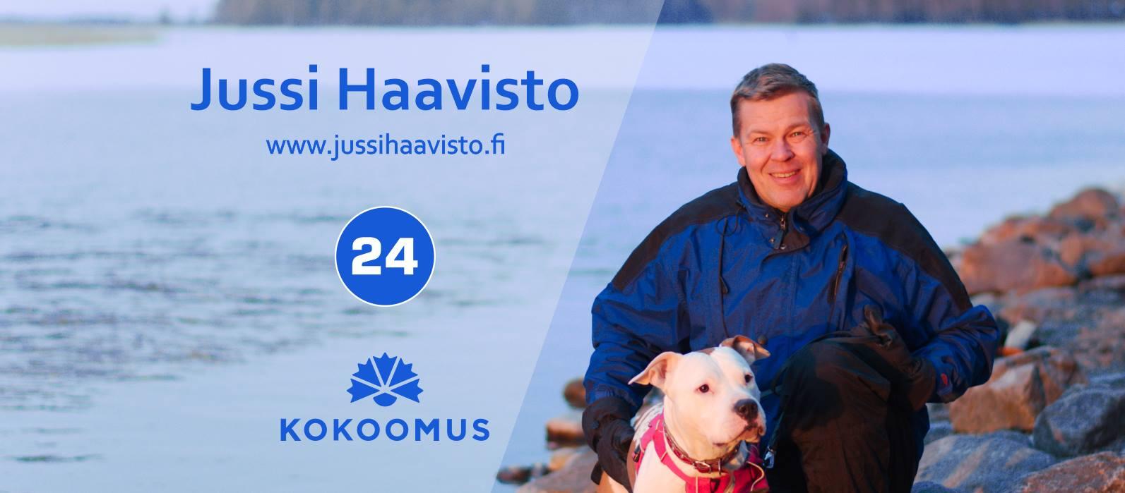 Jussi Haavisto 24, Kokoomus